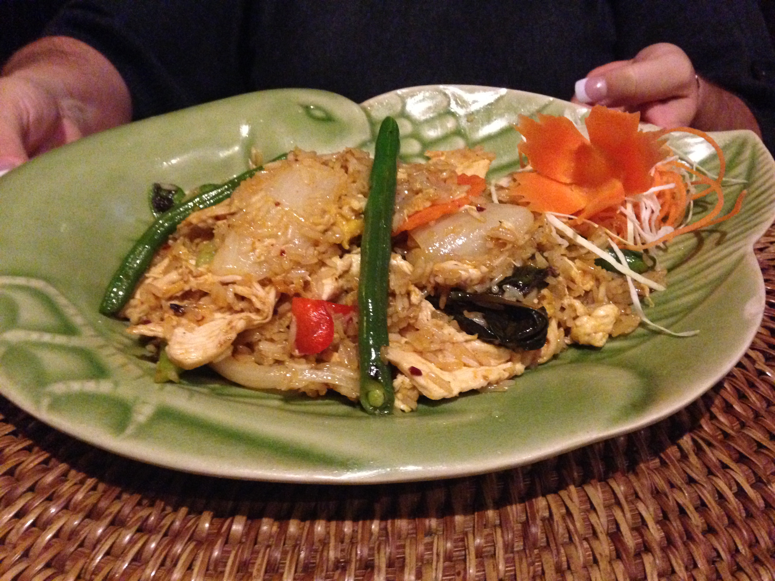 Foodie friday thai ruby s authentic thai food and for Atmosphere cuisine