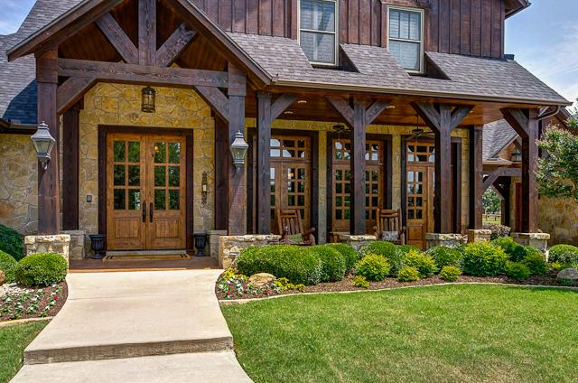 Must See Monday Rustic Home With Expansive Porches In