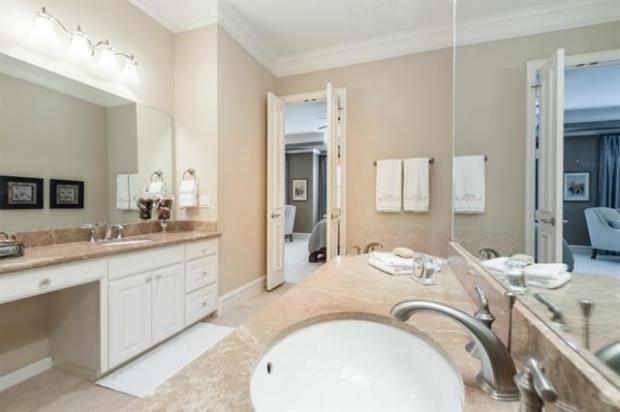 Master Bath with Garden Tub, Walk in Shower, Separate Vanities,