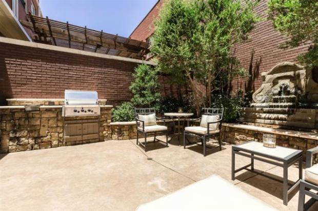 Fabulous Outdoor Living Area in the Claffey Designed Courtyard w